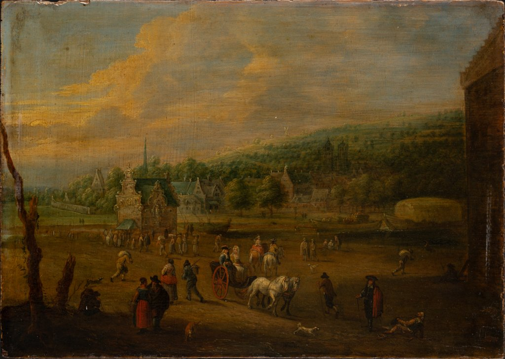 Landscape with Figures, Lucas van Uden  succession
