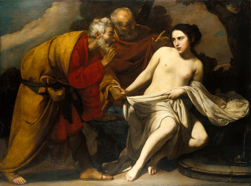 Susanna and the Elders, Massimo Stanzione