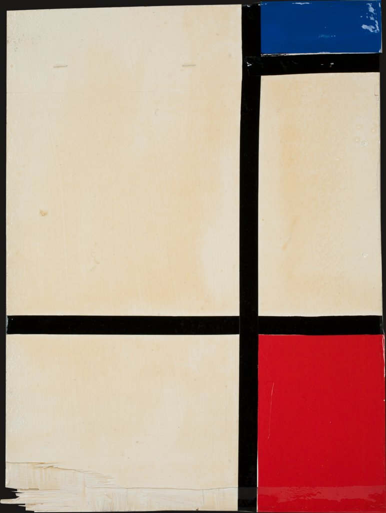 Still untitled (Piet Mondrian), Mathieu Mercier