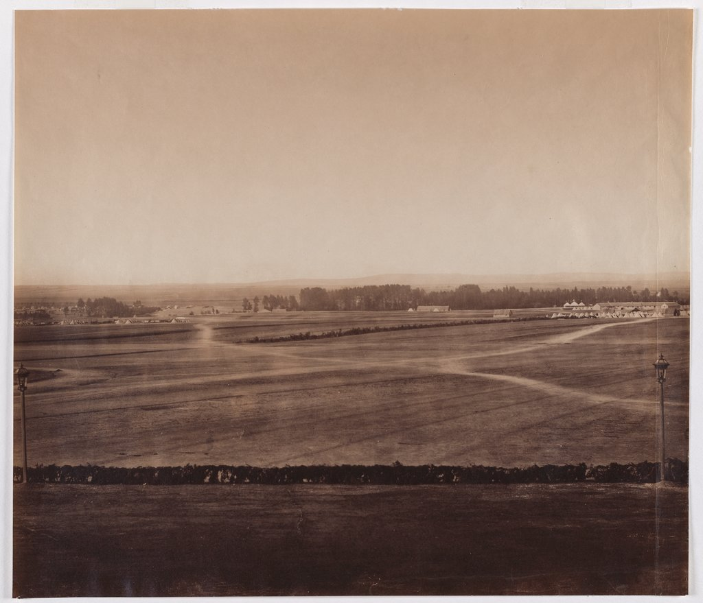 The field of maneuvers in Châlons-sur-Marne, Gustave Le Gray