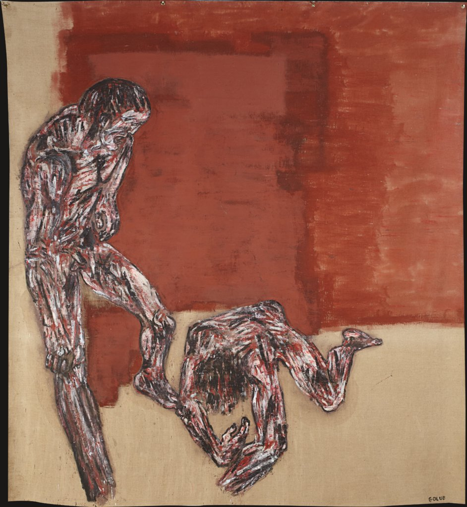 Fallen Figure (Fallen Fighter), Leon Golub