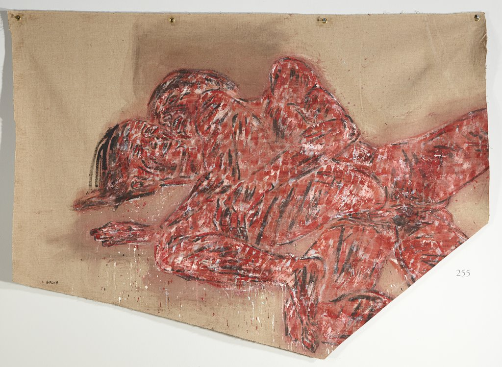 The Caress, Leon Golub