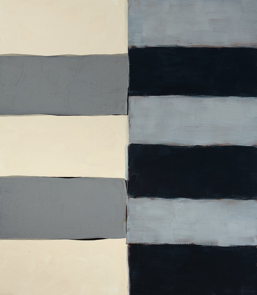 Pale Mirror, Sean Scully