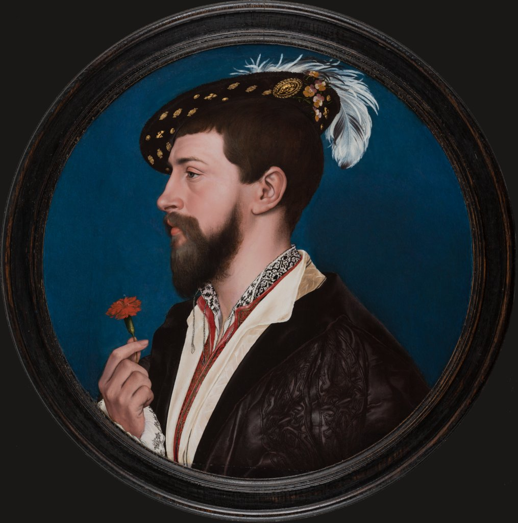 Portrait of Simon George of Cornwall, Hans Holbein the Younger