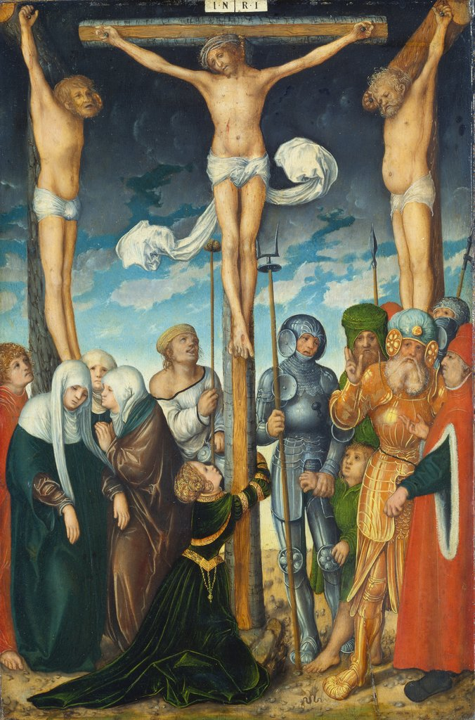The Crucifixion, Lucas Cranach the Elder