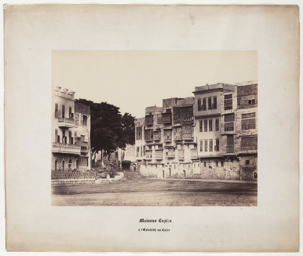 Cairo: Coptic Houses at the Esbekieh in Cairo, No. 28,
