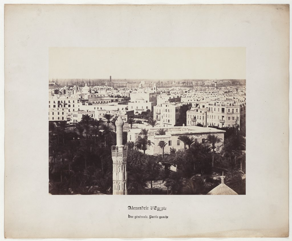 Alexandria of Egypt: General View, Left Part, No. 1, Wilhelm Hammerschmidt