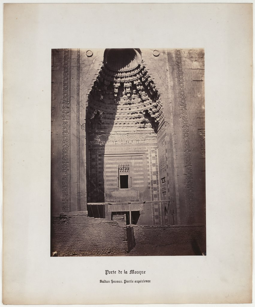 Mosque Gate, Sultan Hassan, Superior Party, No. 24,