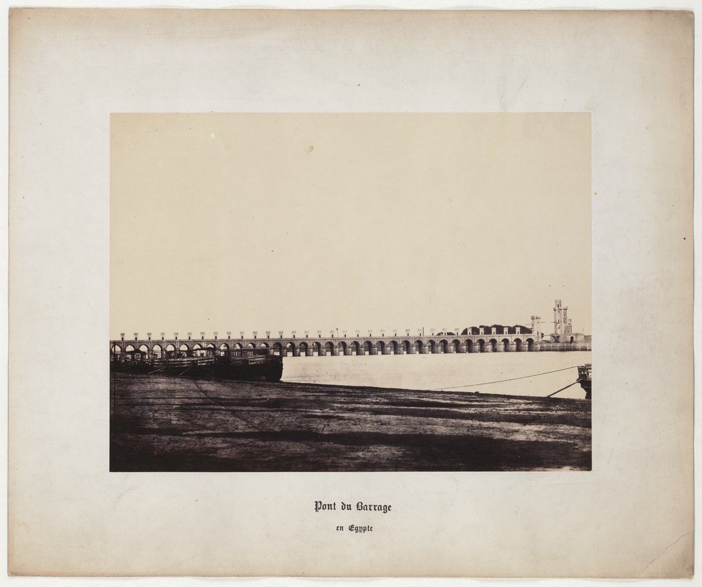 Dam Bridge in Egypt, No. 5, Wilhelm Hammerschmidt