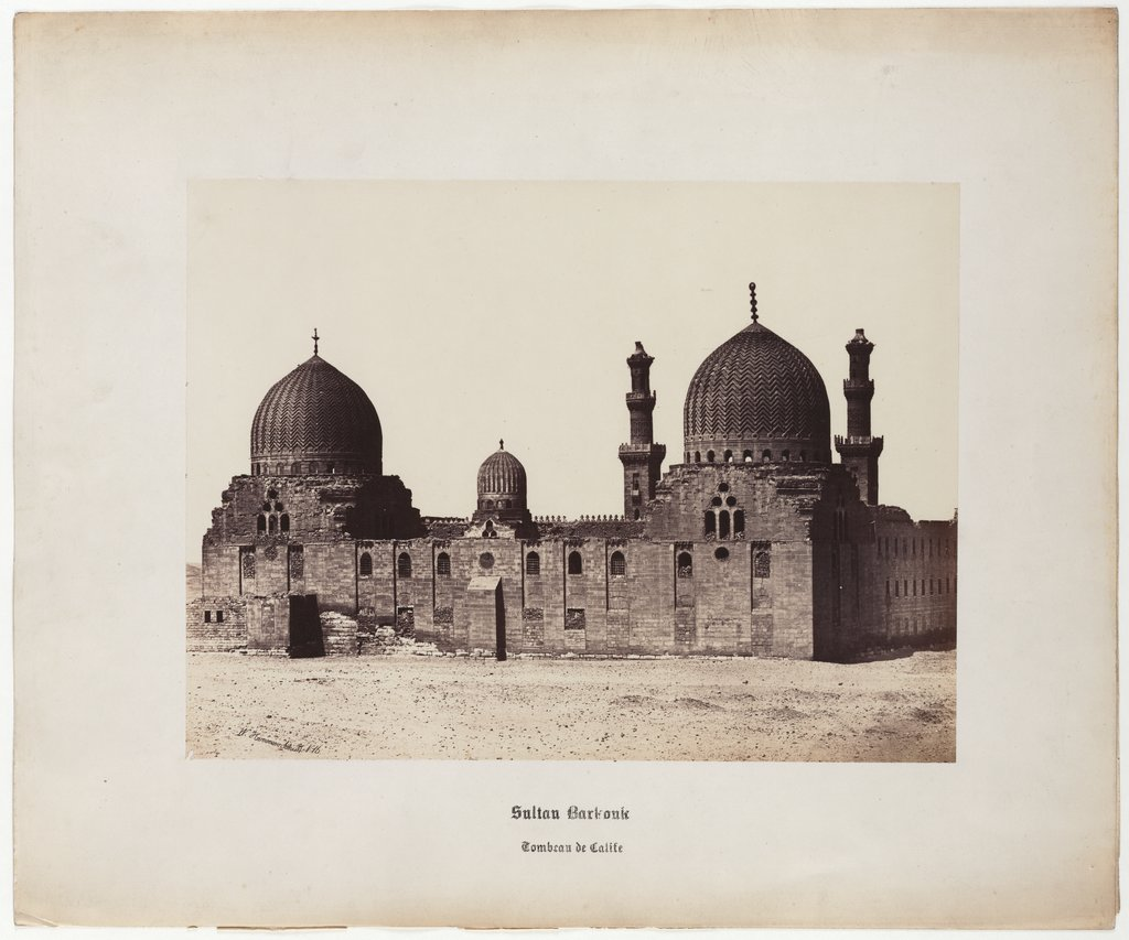 Cairo: Sultan Barkouk, Tomb of the Caliph, No. 16, Wilhelm Hammerschmidt