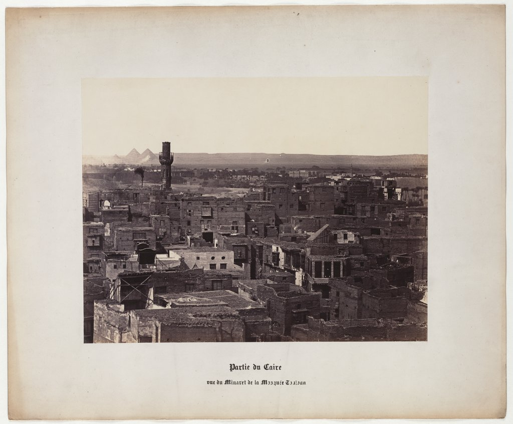 Part of Cairo, view of the Minaret of the Touloun Mosque, No. 9,