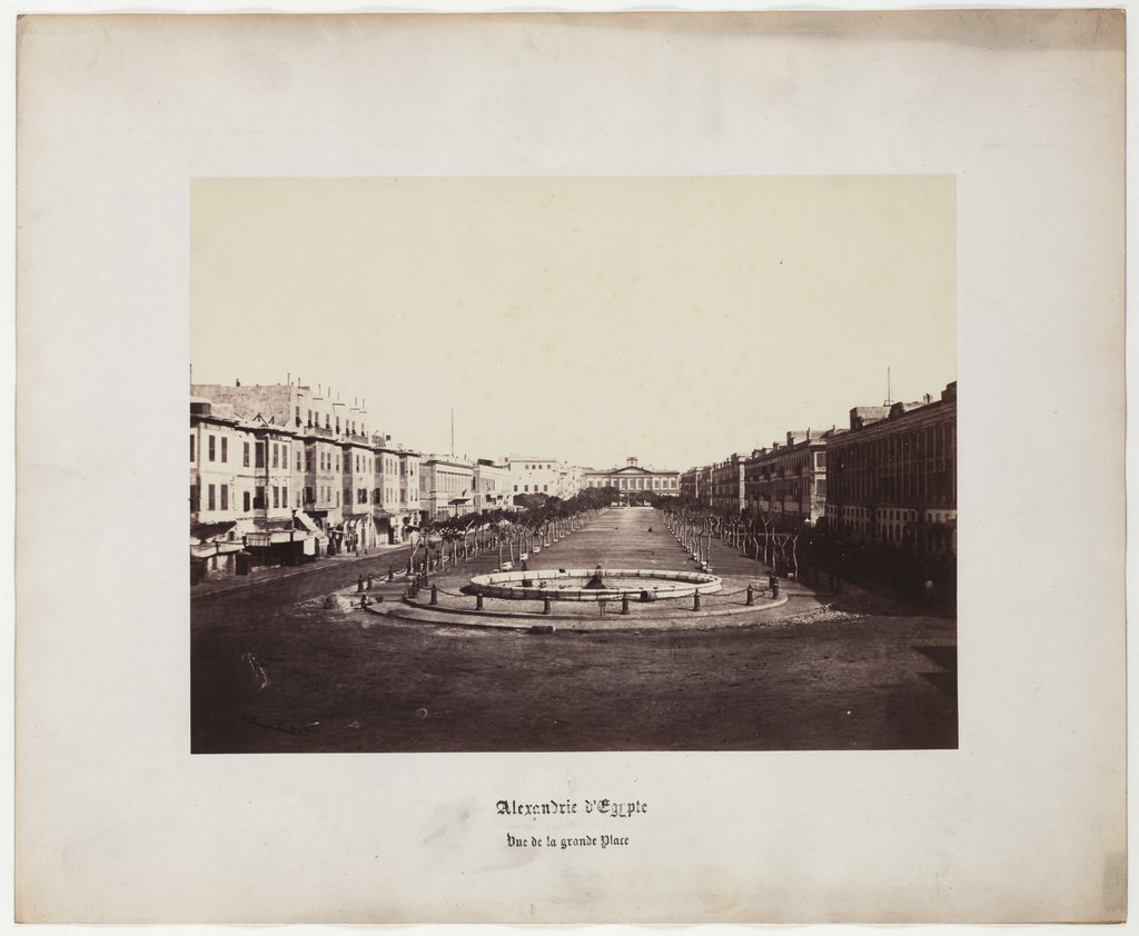 Alexandria of Egypt: view from the great square, No. 2,