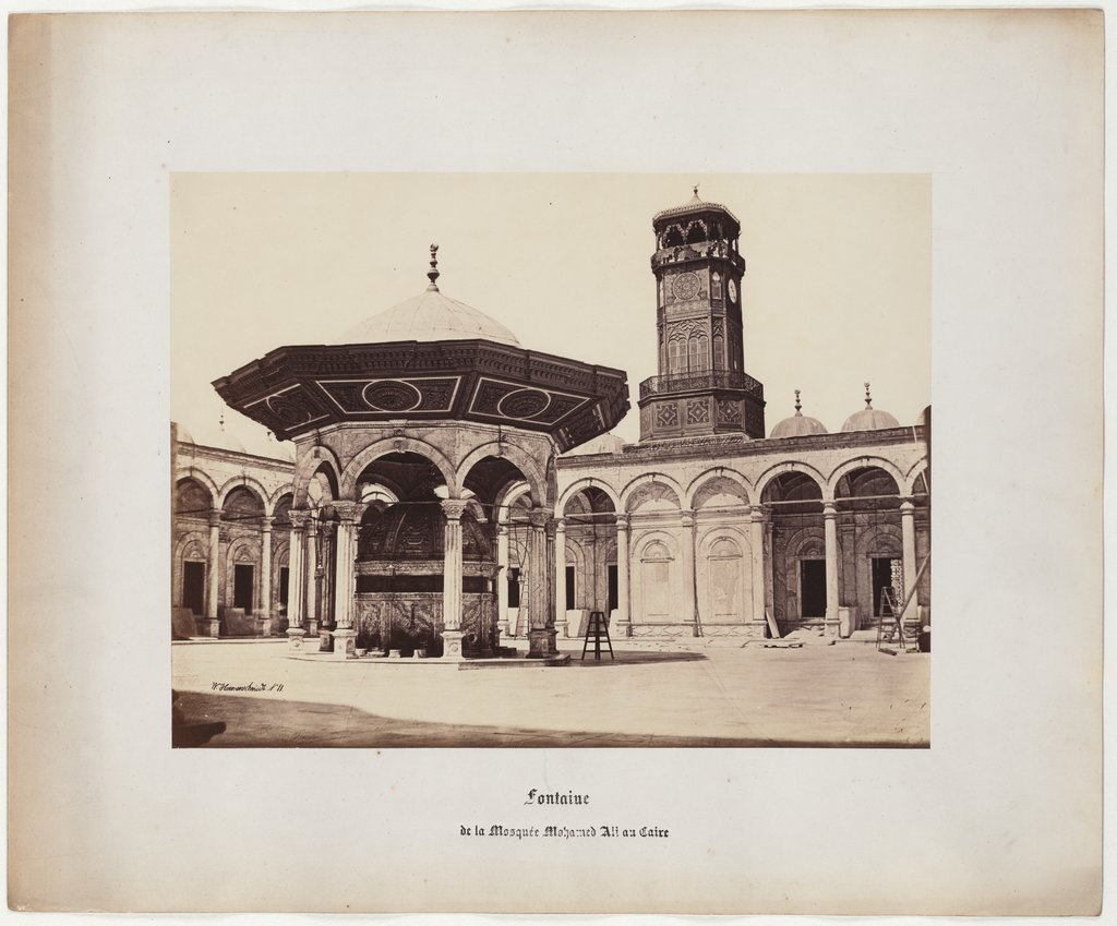 Fountain of the Mohamed Ali Mosque in Cairo, No. 11, Wilhelm Hammerschmidt