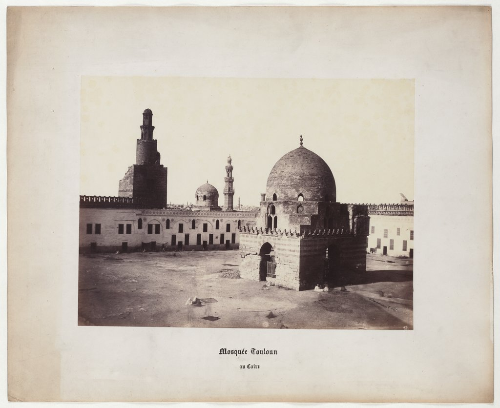 Cairo: Touloun Mosque in Cairo, Tomb of Caliph, No. 21, Wilhelm Hammerschmidt