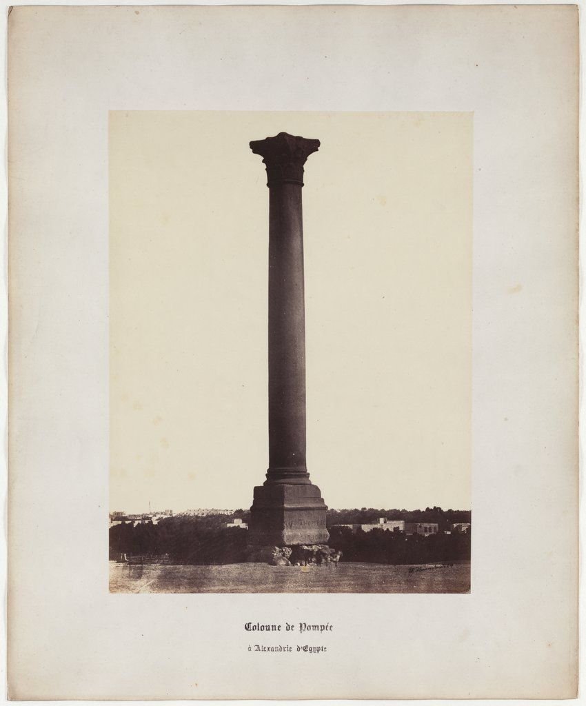 Pompey's Column in Alexandria of Egypt, No. 4, Wilhelm Hammerschmidt