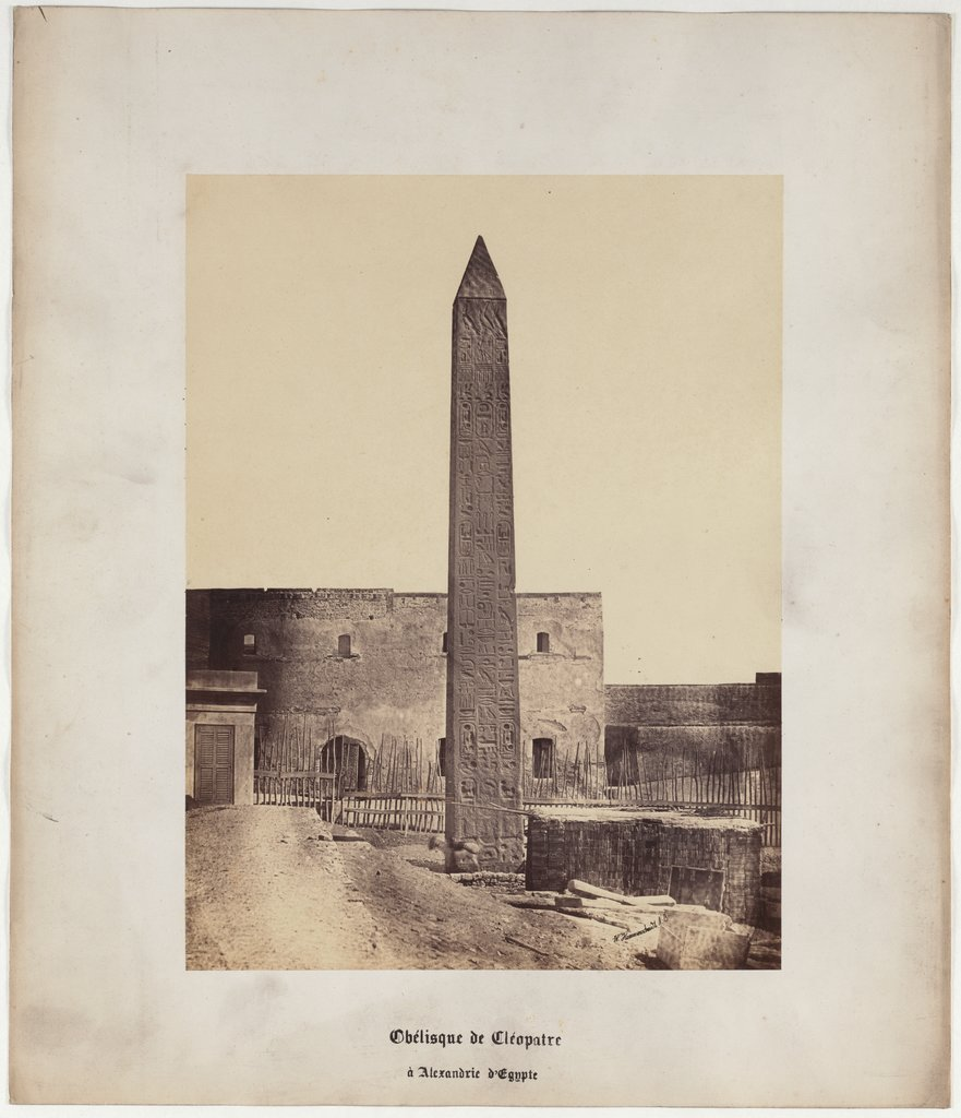 Obelisk of Cleopatra in Alexandria of Egypt, No. 3, Wilhelm Hammerschmidt