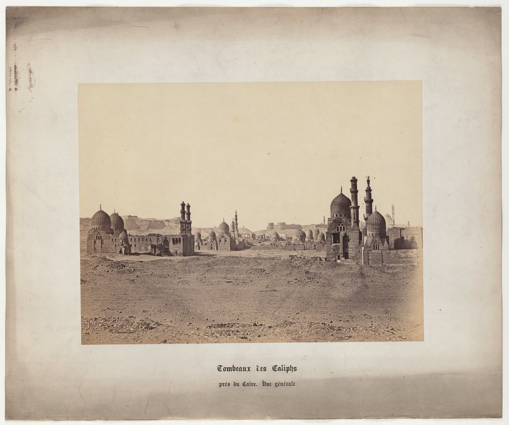 Caliphs' tombs near Cairo. General view, No. 14,