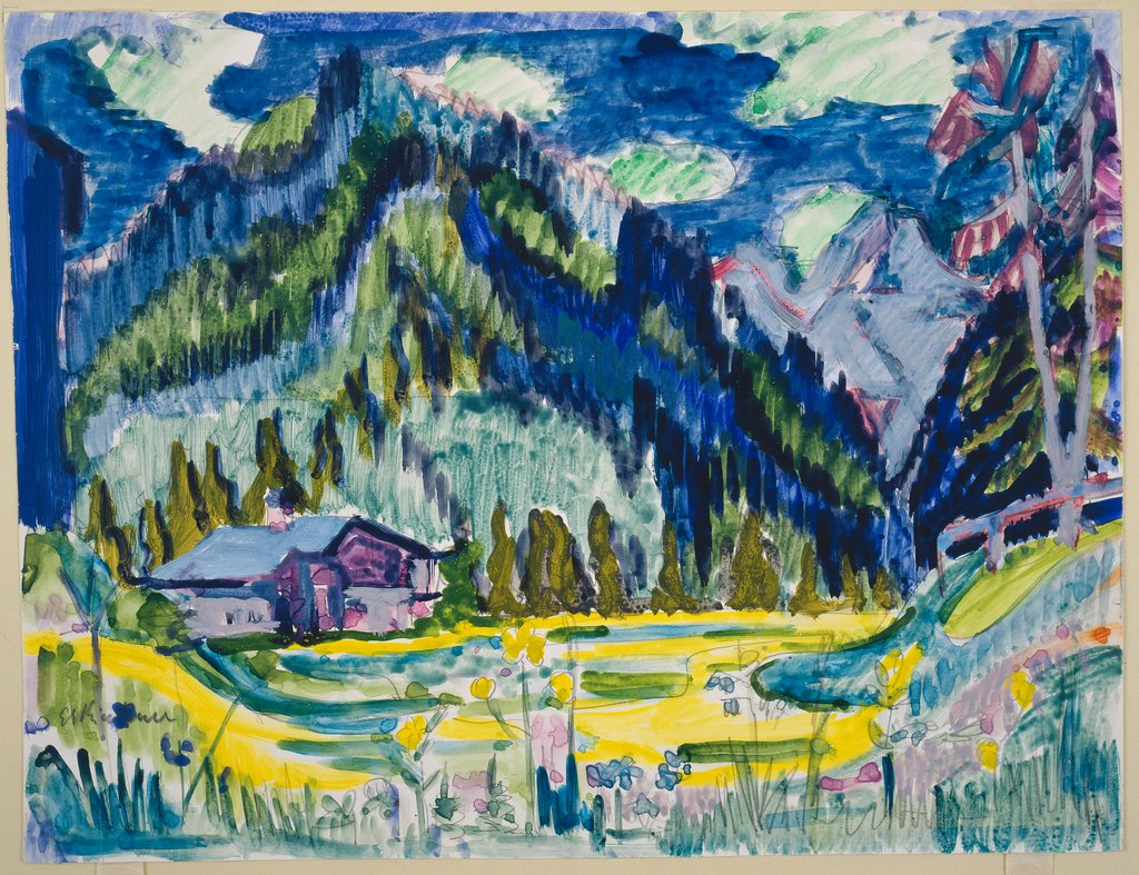 Wild Ground, Ernst Ludwig Kirchner
