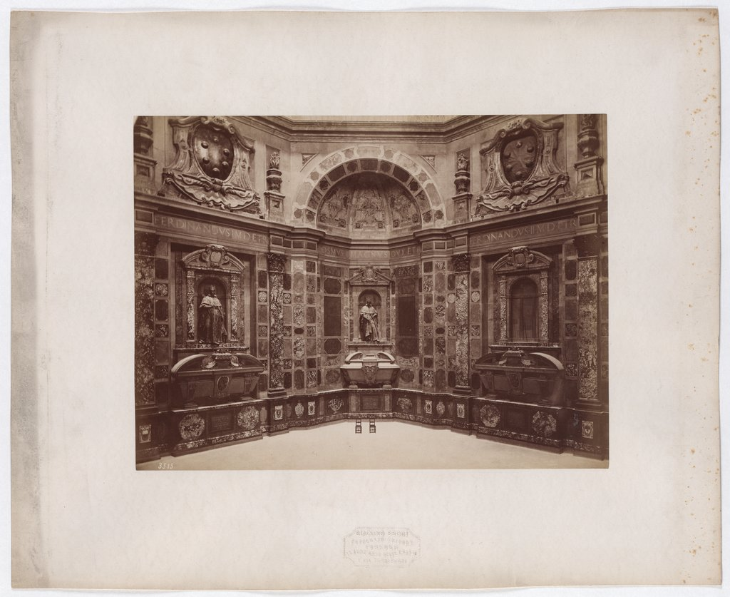 Florence: S. Lorenzo, Chapel of the Princes, No. 3515, Giacomo Brogi