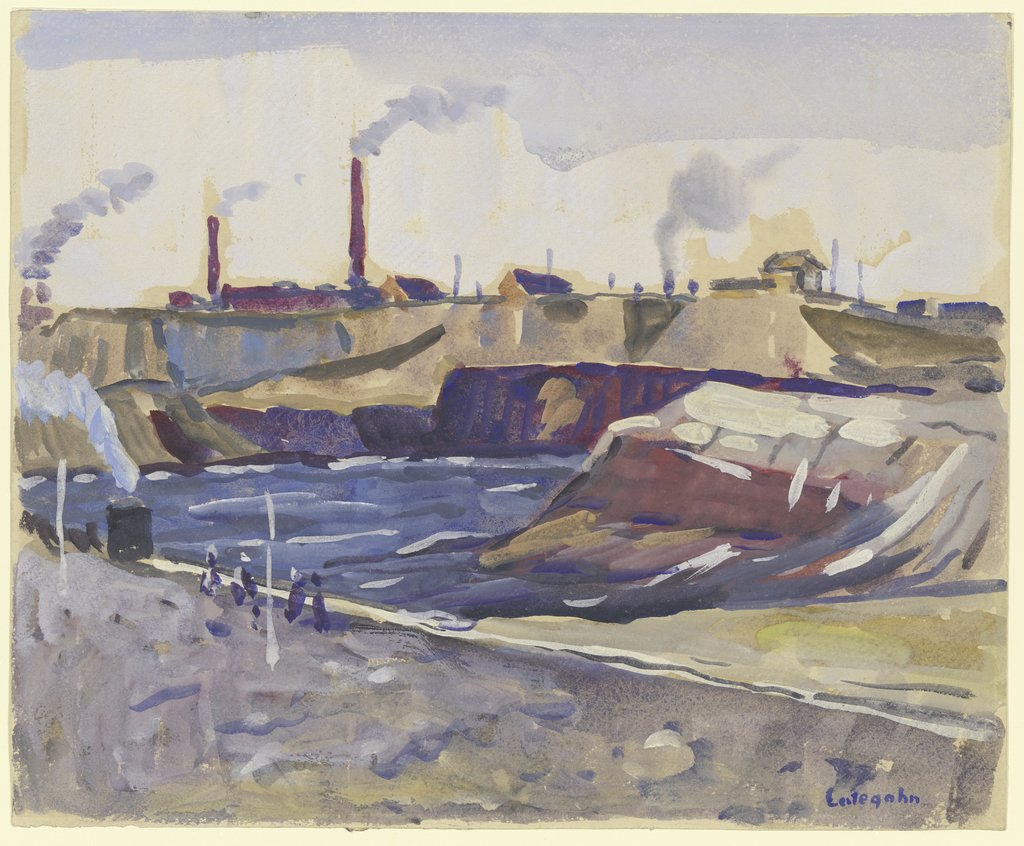 Industrielandschaft, Wilhelm Lategahn