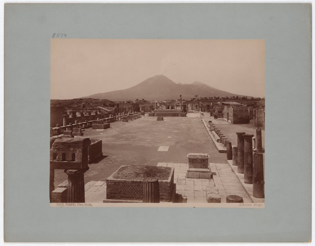 Pompeii: Civil Forum, No. 5026, Giacomo Brogi