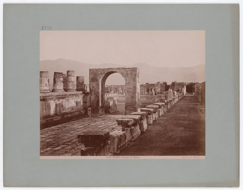 Pompeii: Temple of Jupiter, No. 5032, Giacomo Brogi