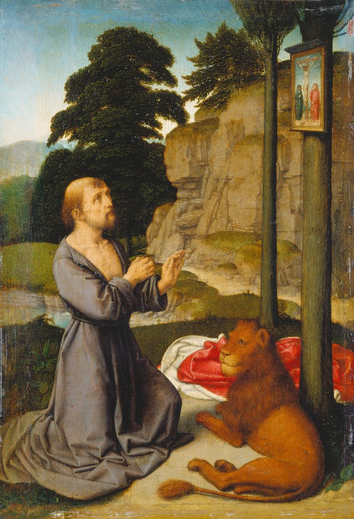 Saint Jerome in the Wilderness, Gerard David