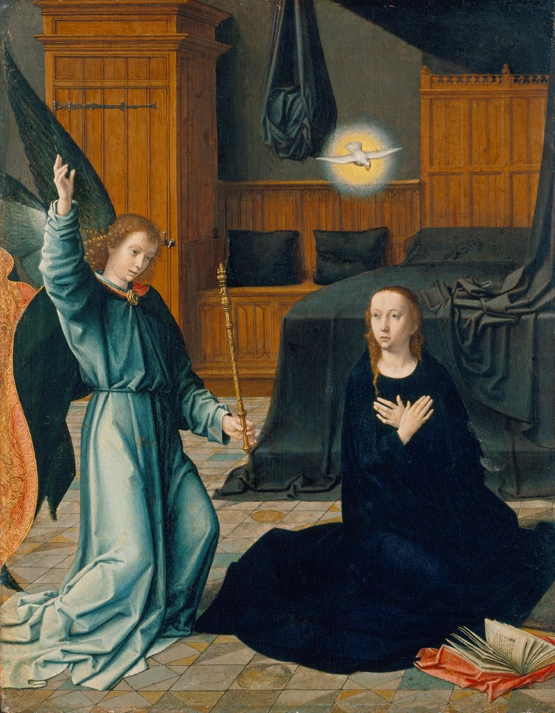 The Annunciation, Gerard David