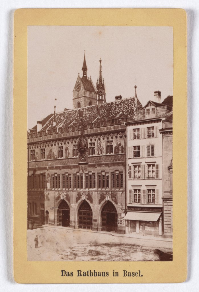 Basel: City Hall, A. Varady & Comp.