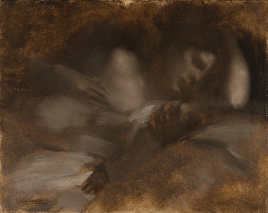 The Sleep, Eugène Carrière