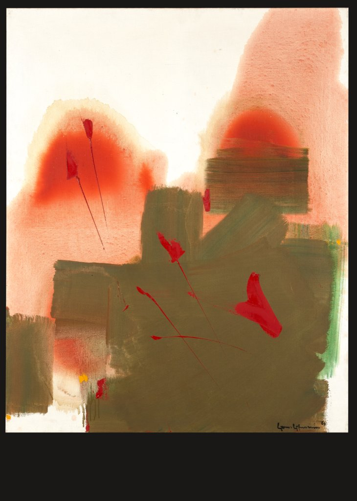 Red Parable, Hans Hofmann