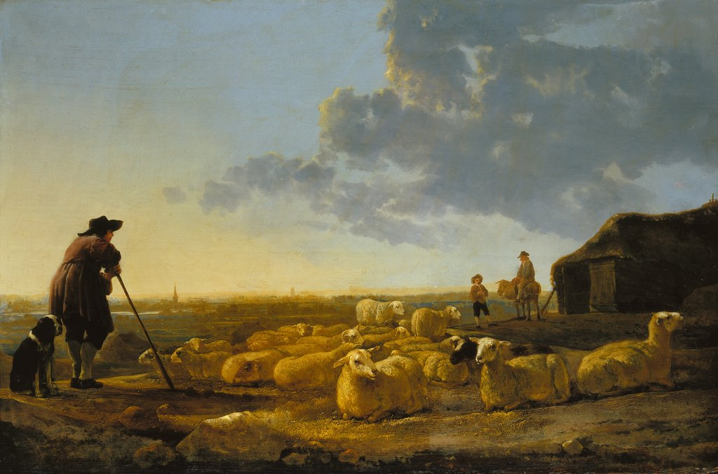 Herd of Sheep at Pasture, Aelbert Cuyp