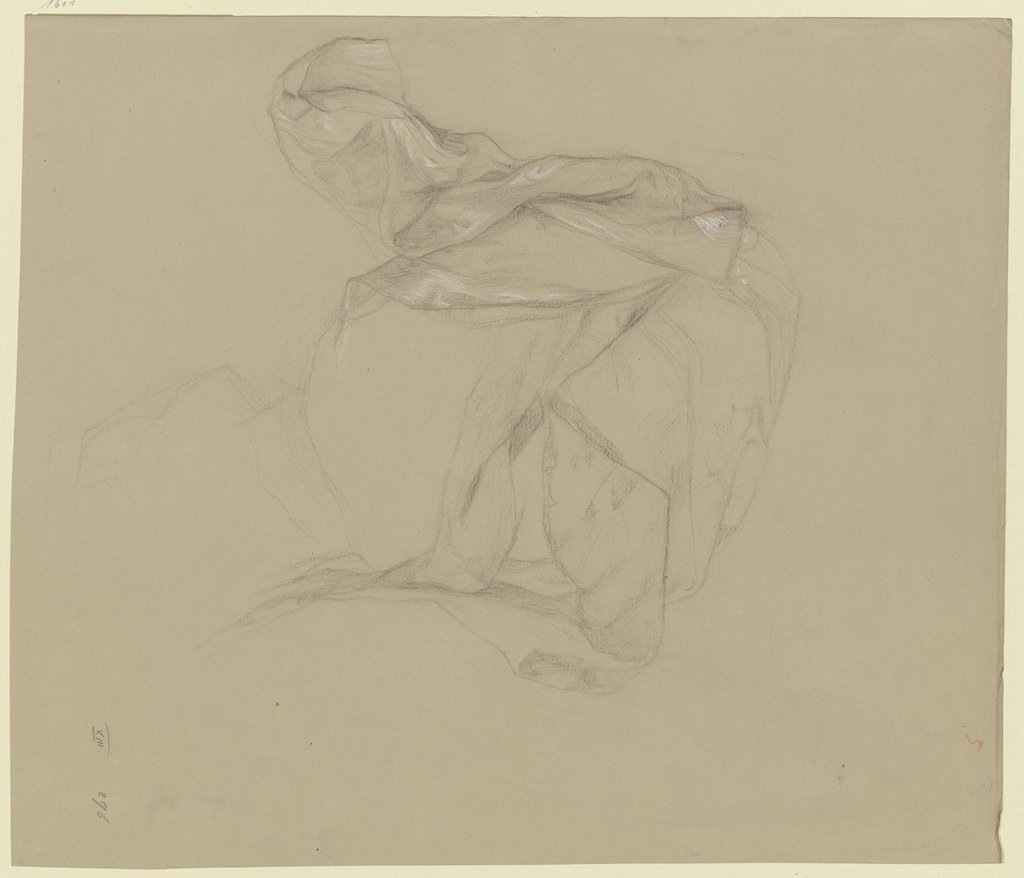 Study of garments, Victor Müller
