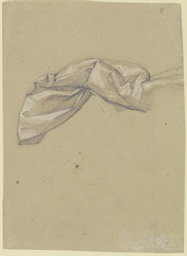 Drapery study, Victor Müller