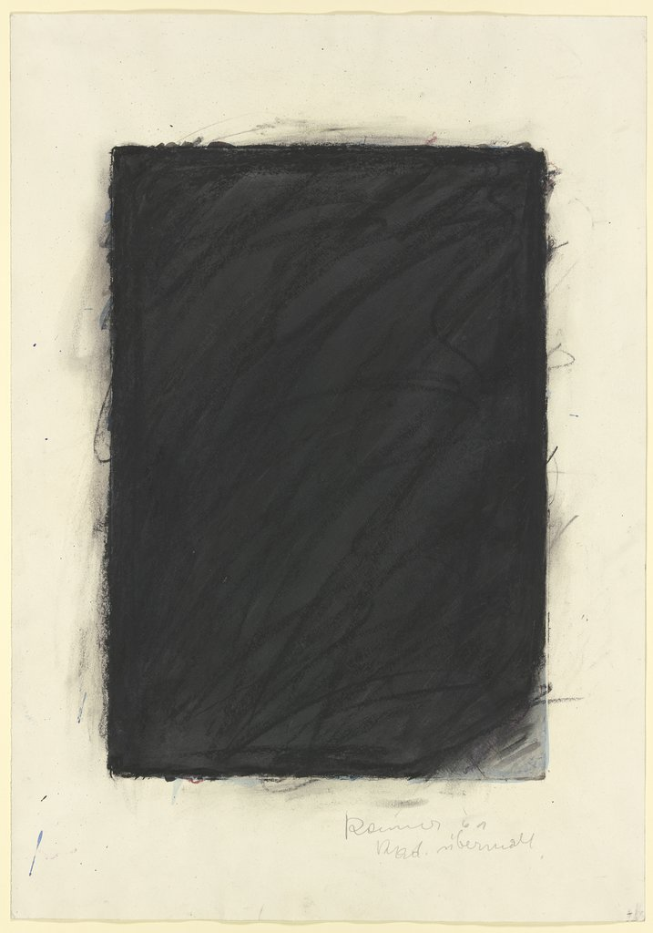 Overpainting, Arnulf Rainer