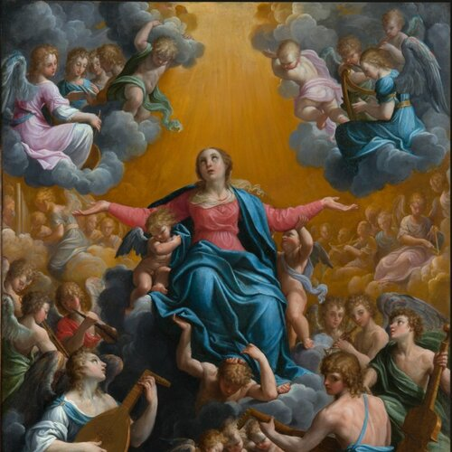 Assumption of the Virgin, Guido Reni