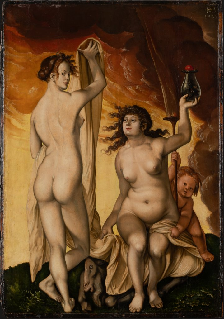 Two Witches, Hans Baldung Grien