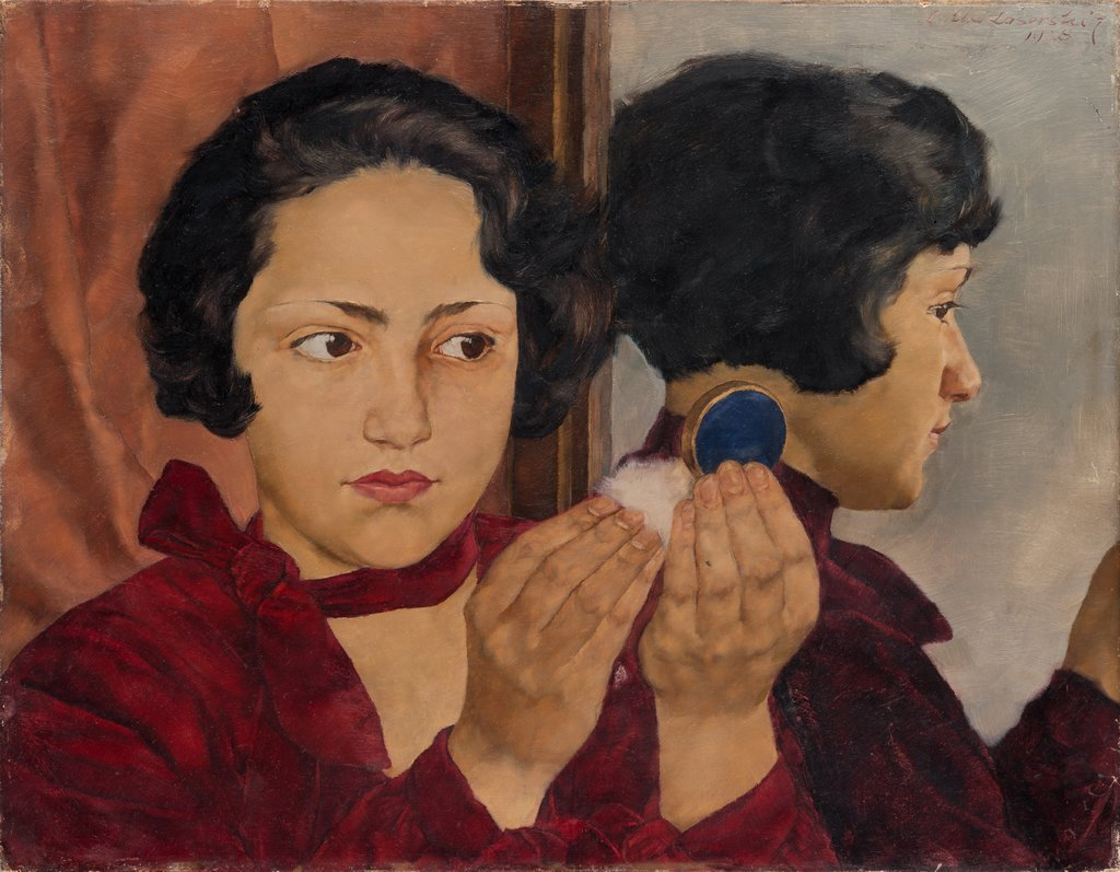 Russian Girl with Compact, Lotte Laserstein