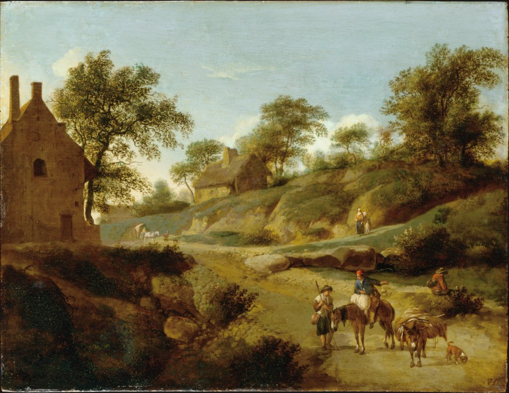 On a Country Road, Jan van der Heyden