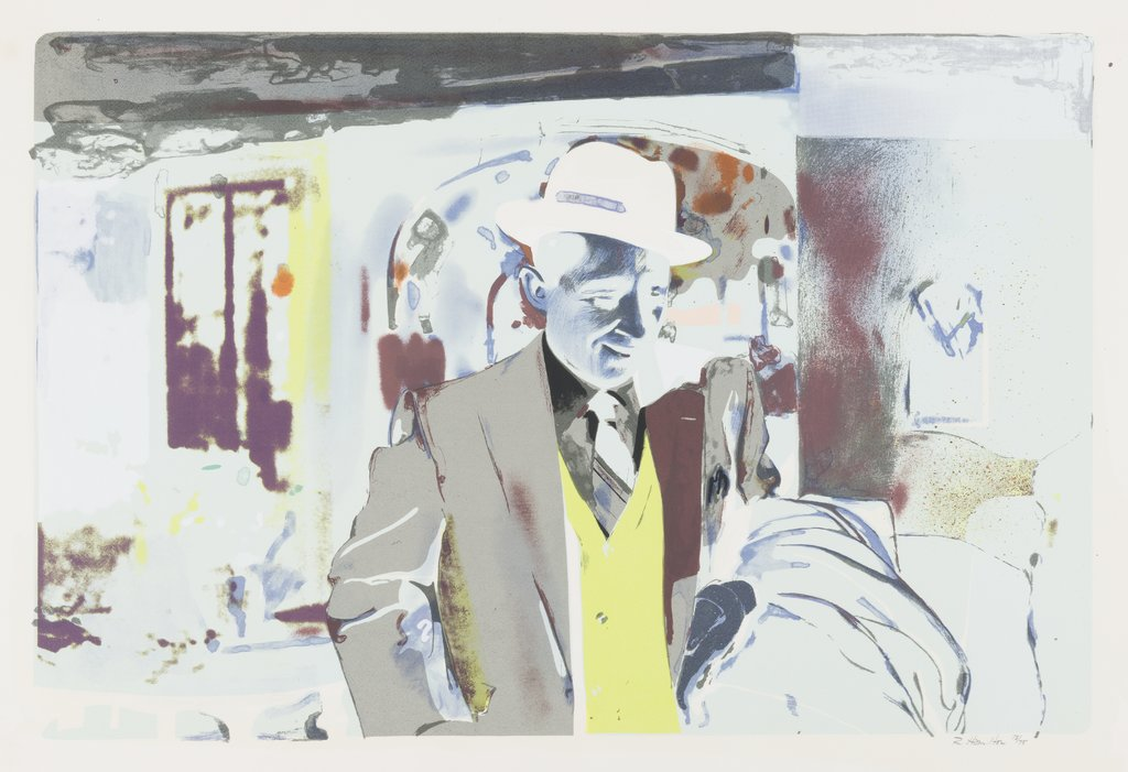 I'm dreaming of a white Christmas, Richard Hamilton