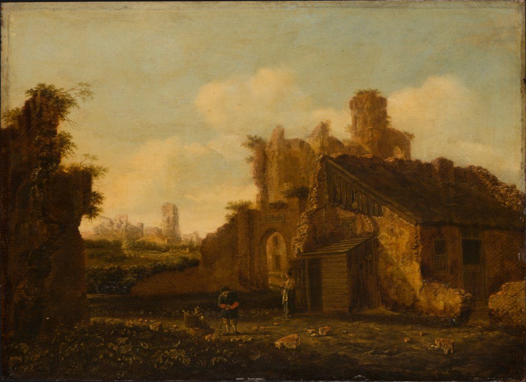 Italian Landscape with Antique Ruins, Emanuel Murant