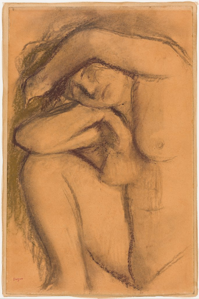 Study of the nude, Edgar Degas