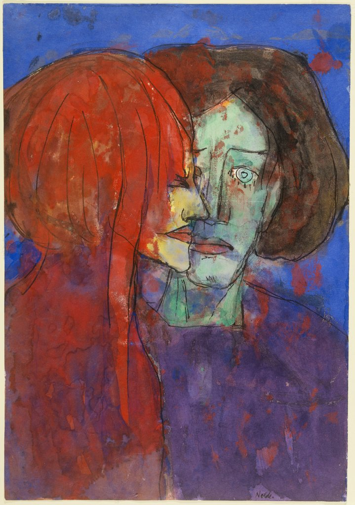 Couple, Emil Nolde