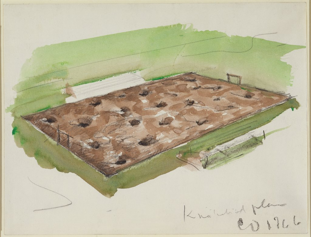 Crispbread Playing Field, Claes Oldenburg