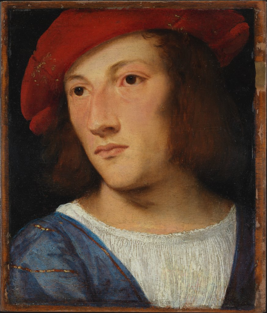 Portrait of a Young Man, Titian