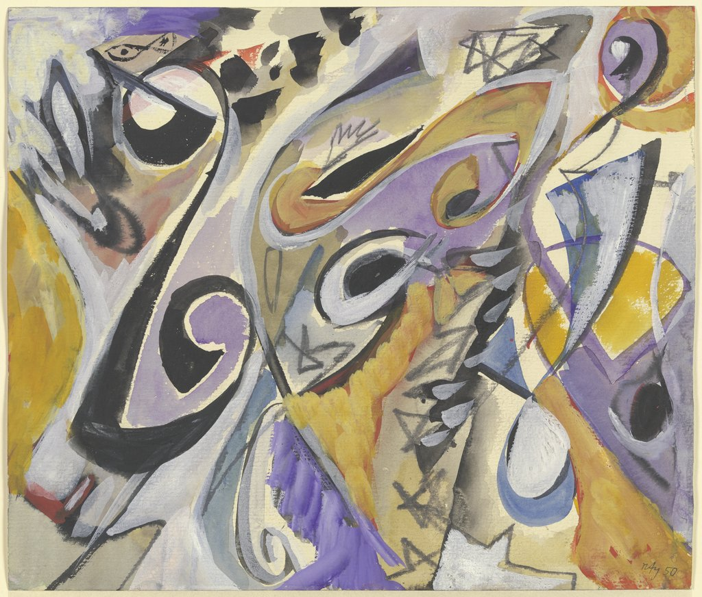 Untitled, Ernst Wilhelm Nay