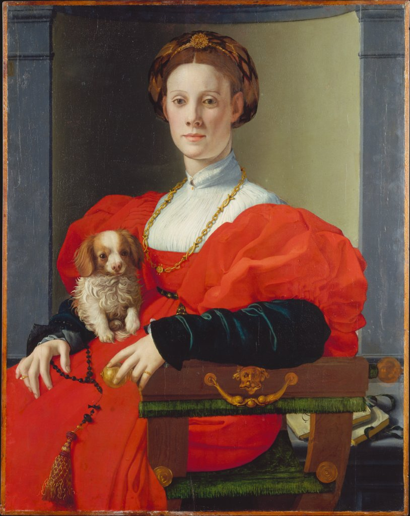 Portrait of a Lady in Red (Francesca Salviati?), Agnolo Bronzino