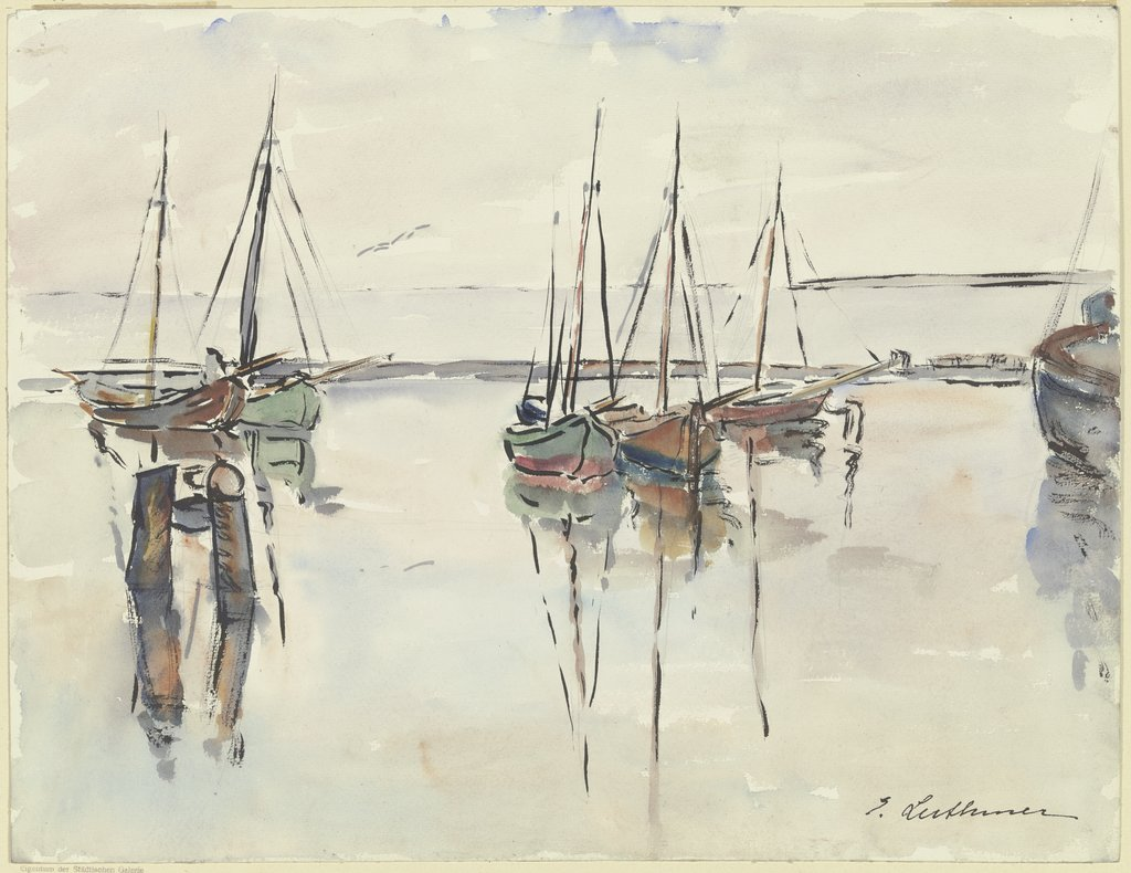 Fishing port, Else Luthmer