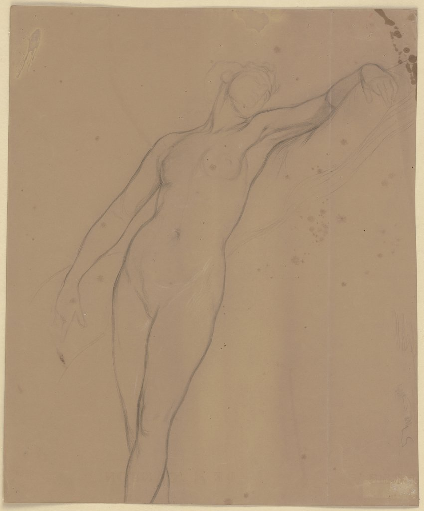 Ophelia as nude, Victor Müller