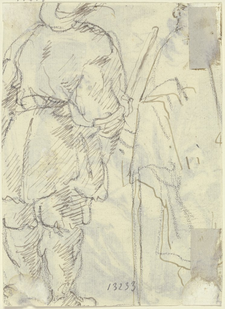 Studies of figures, Gaspare Diziani